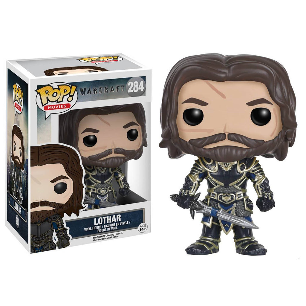 Funko World Of Warcraft POP Lothar Vinyl Figure - Radar Toys