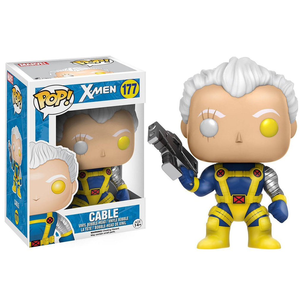 Funko X-Men POP Cable Bobble Head Vinyl Figure - Radar Toys