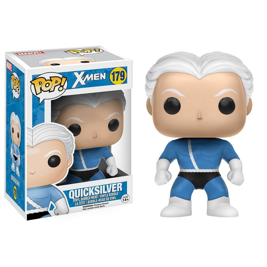 Funko X-Men POP Quicksilver Bobble Head Vinyl Figure
