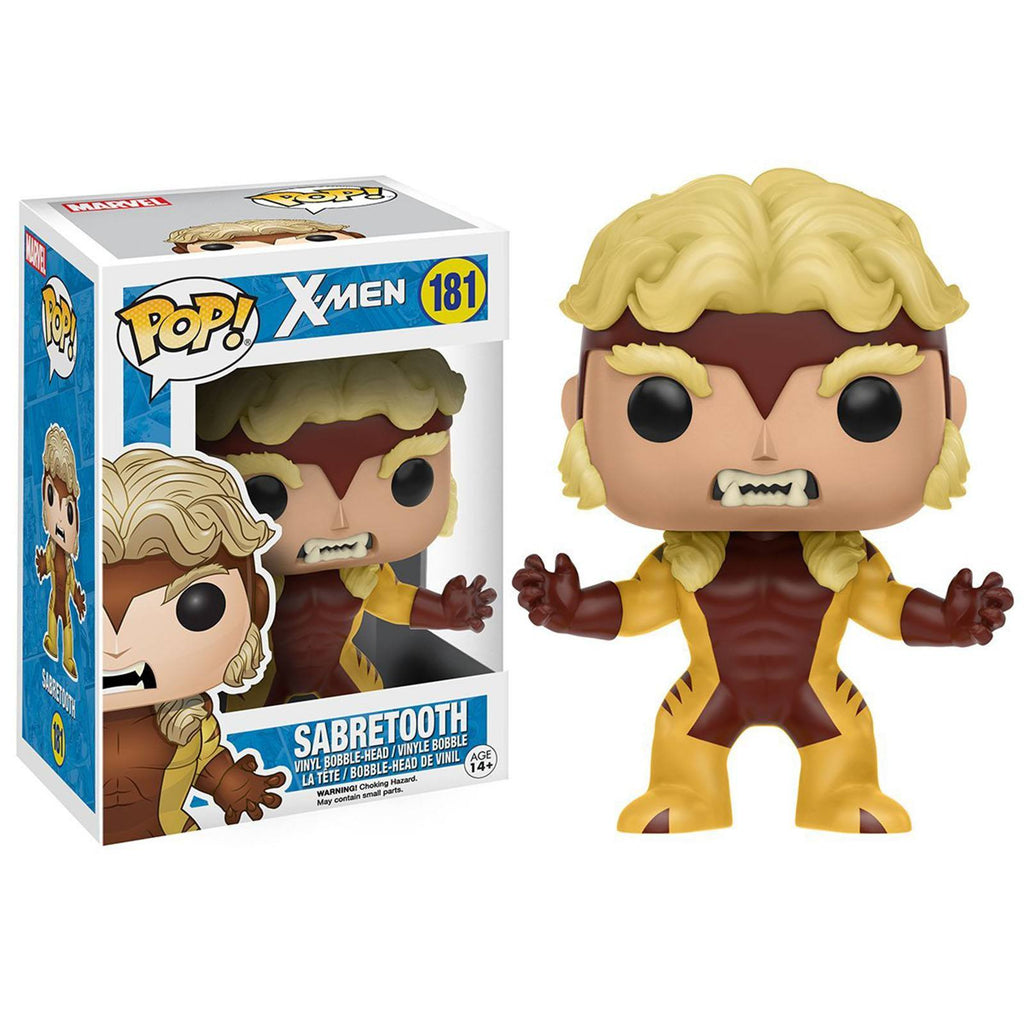 Funko X-Men POP Sabretooth Bobble Head Vinyl Figure