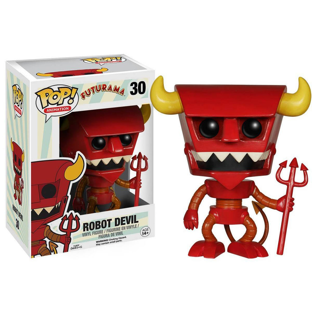 Futurama POP Robot Devil Vinyl Figure