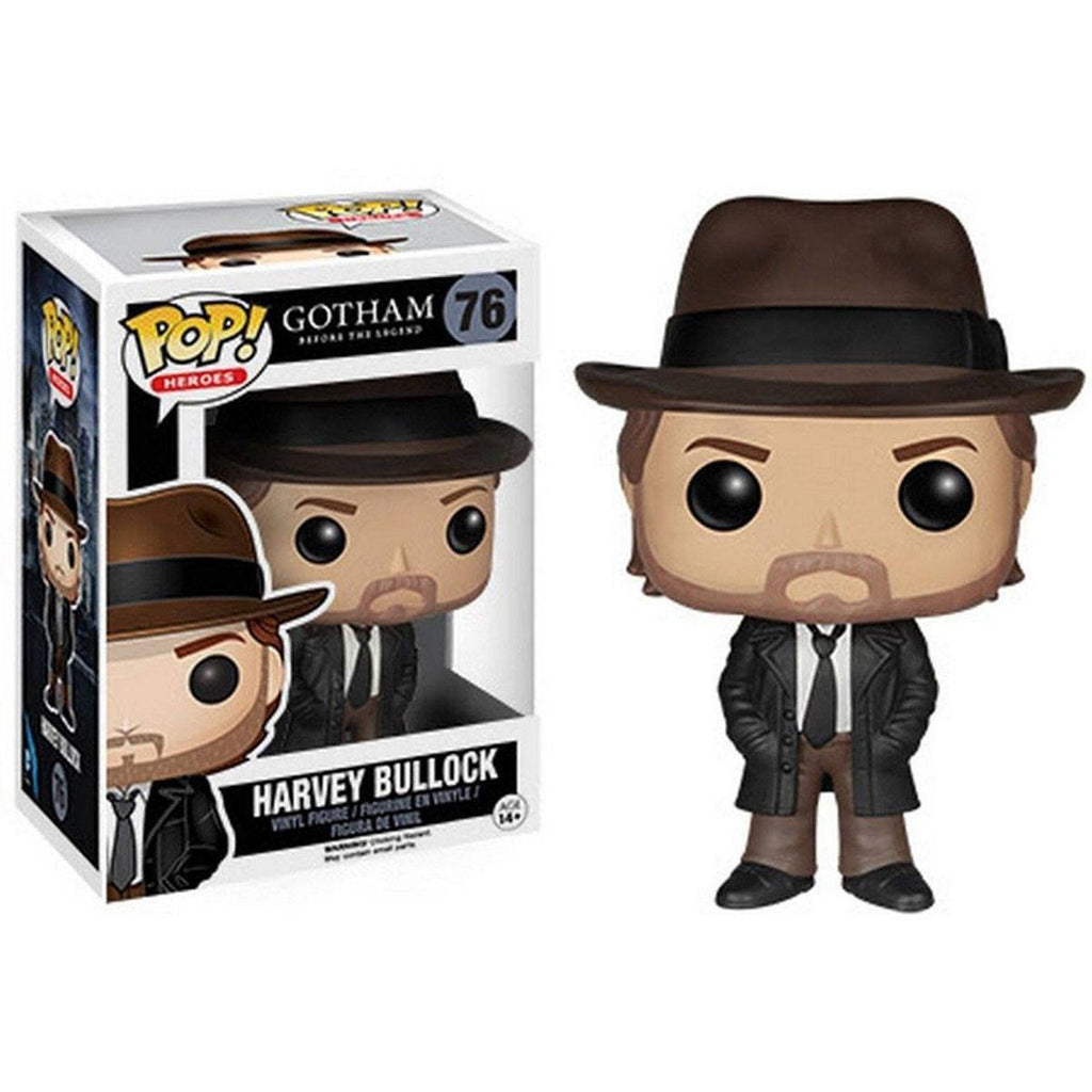 Gotham POP Harvey Bullock Vinyl Figure - Radar Toys