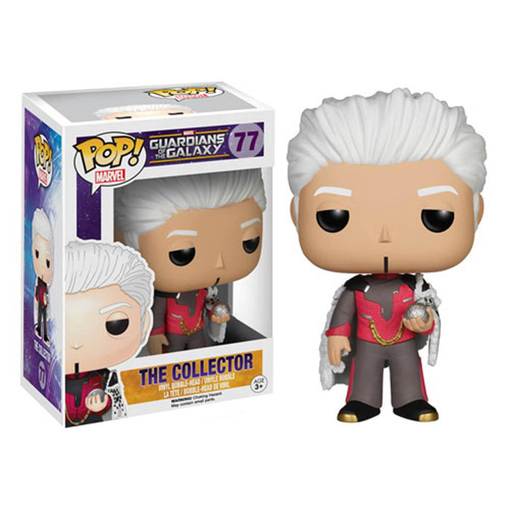 Guardians of the Galaxy POP The Collector Bobble Head Vinyl Figure