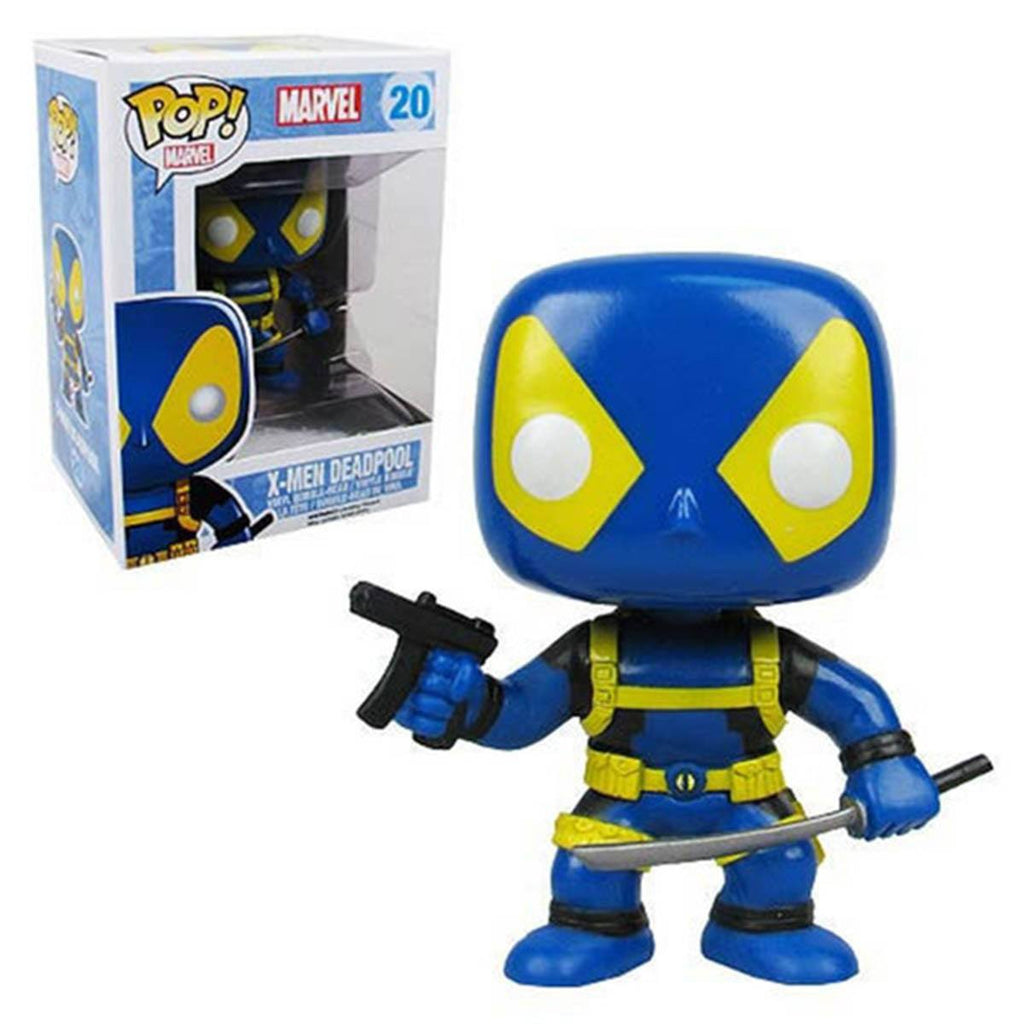 Marvel X-Men POP Deadpool Bobble Head Vinyl Figure