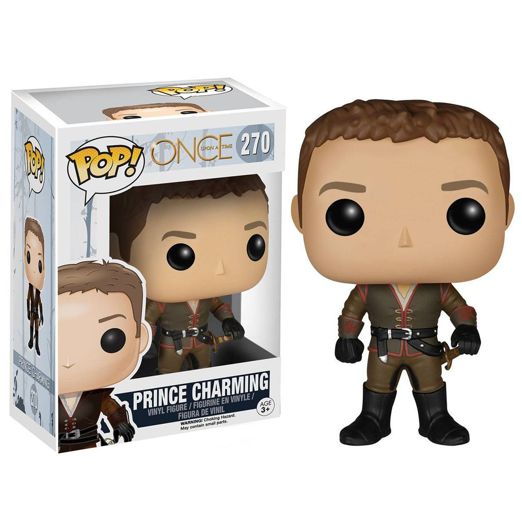 Once Upon A Time POP Prince Charming Vinyl Figure - Radar Toys