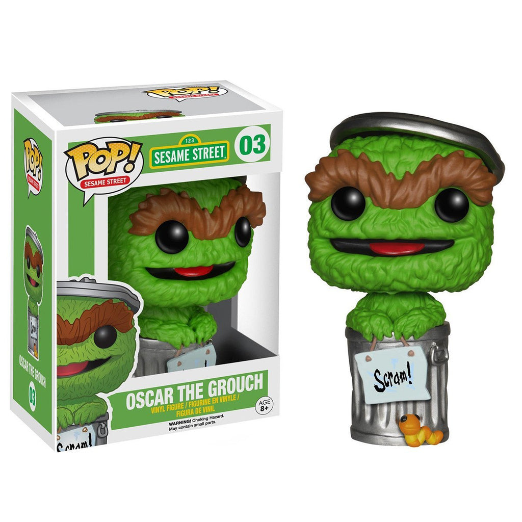 Sesame Street POP Oscar the Grouch Vinyl Figure