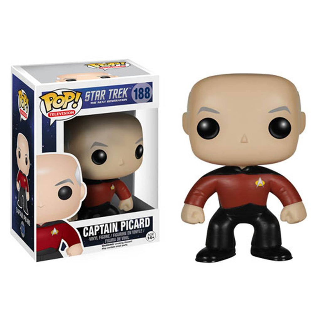 Star Trek The Next Generation POP Captain Jean-Luc Picard Vinyl Figure