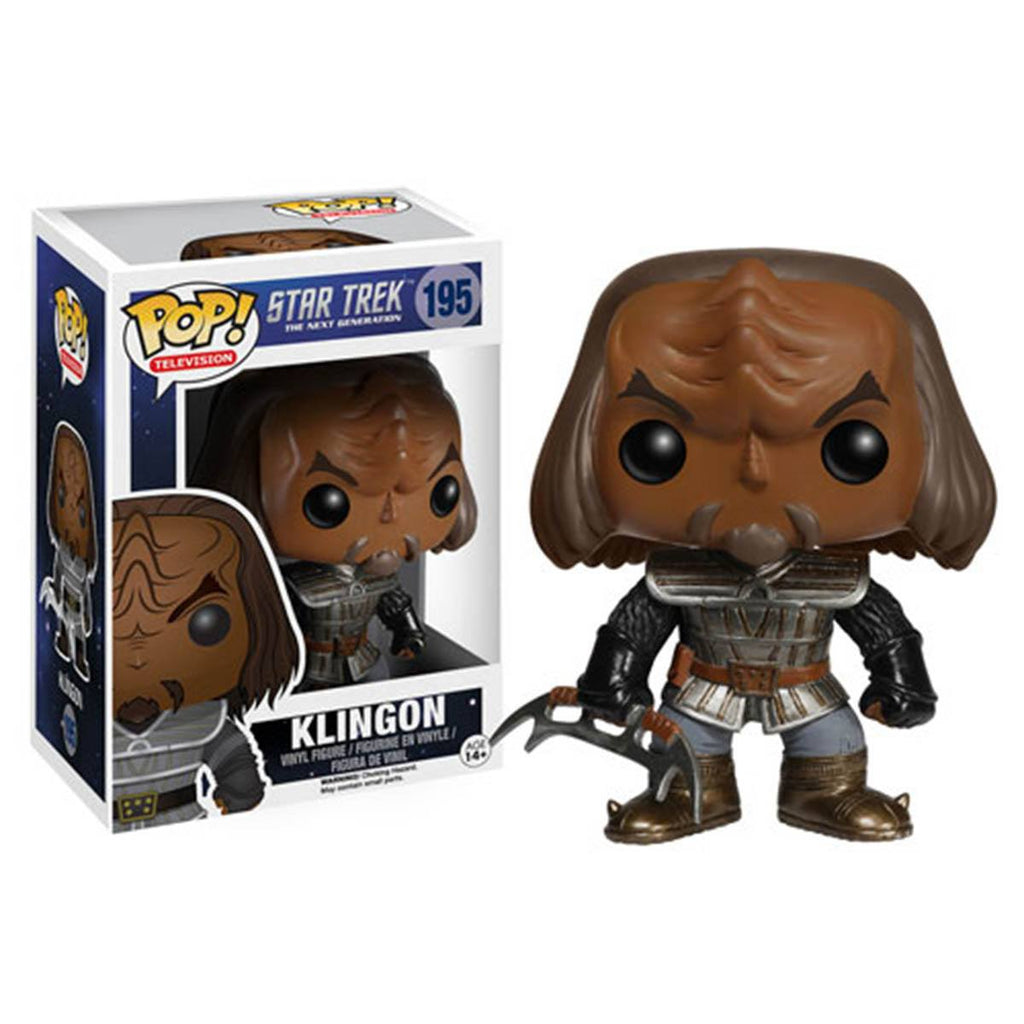 Star Trek The Next Generation POP Klingon Vinyl Figure