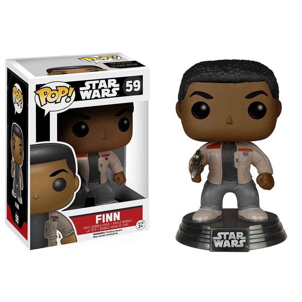 Star Wars Force Awakens POP Finn Bobble Head Vinyl Figure