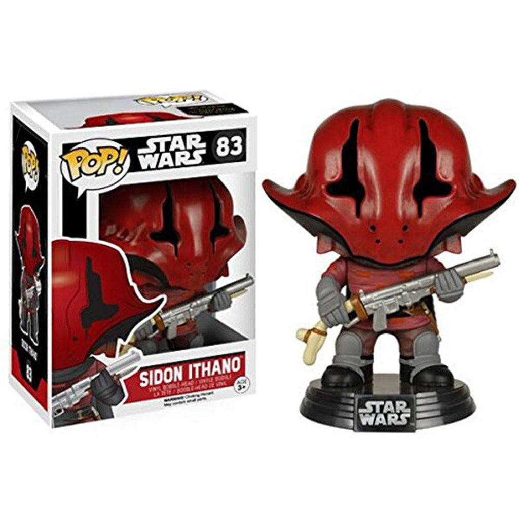 Star Wars Force Awakens POP Sidon Ithano Bobble Head Vinyl Figure - Radar Toys