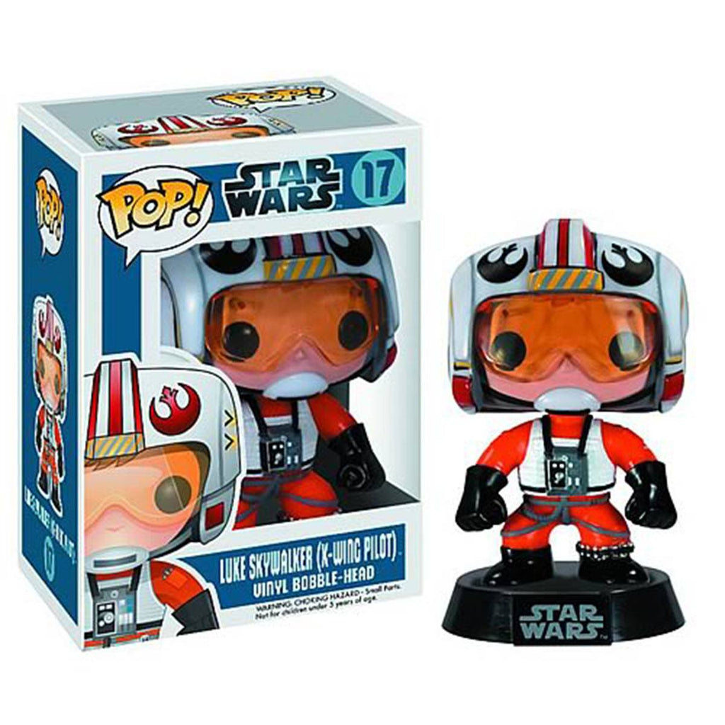 Star Wars POP Luke Skywalker Pilot Bobble Head Vinyl Figure - Radar Toys