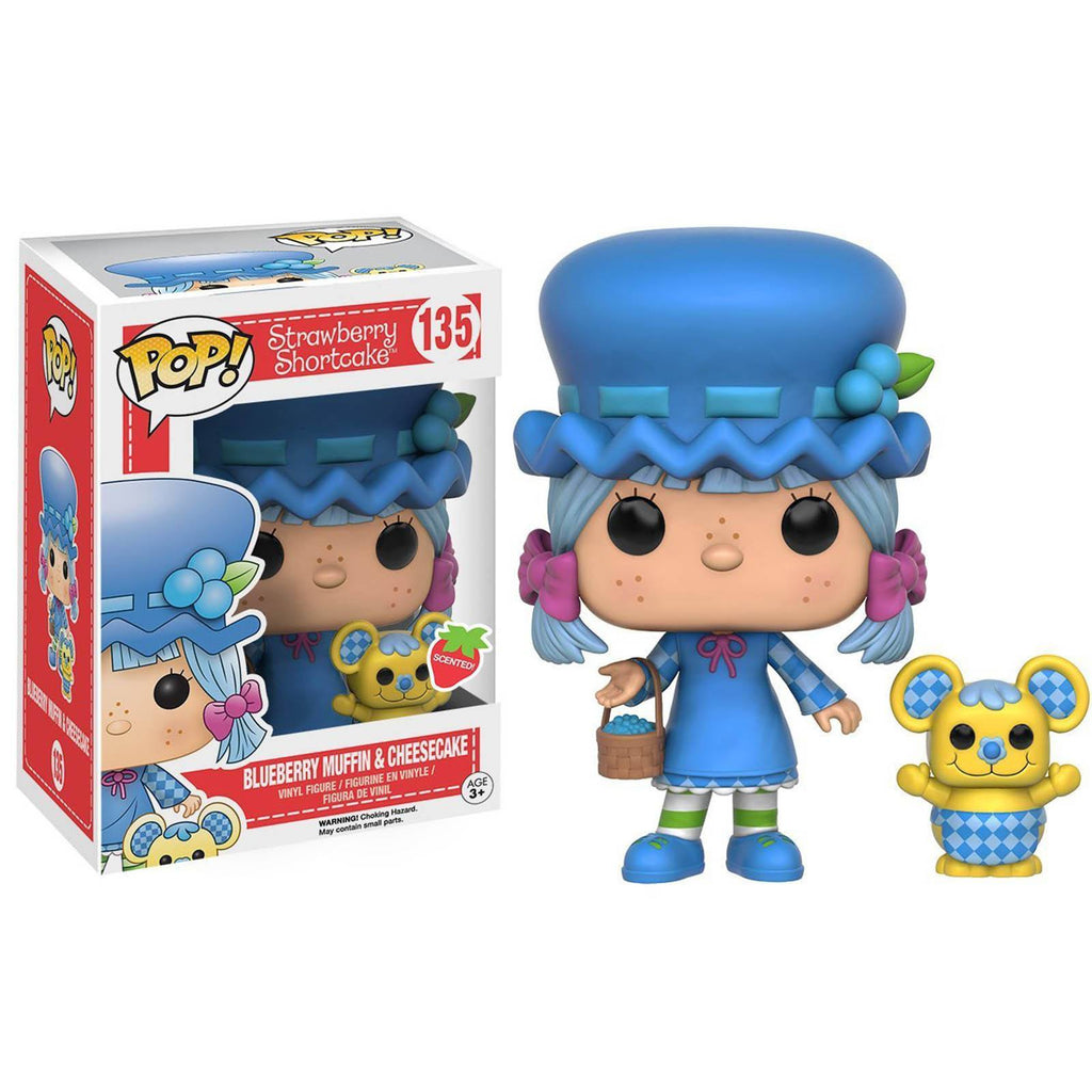 Strawberry Shortcake POP Blueberry Muffin And Cheesecake Figures - Radar Toys