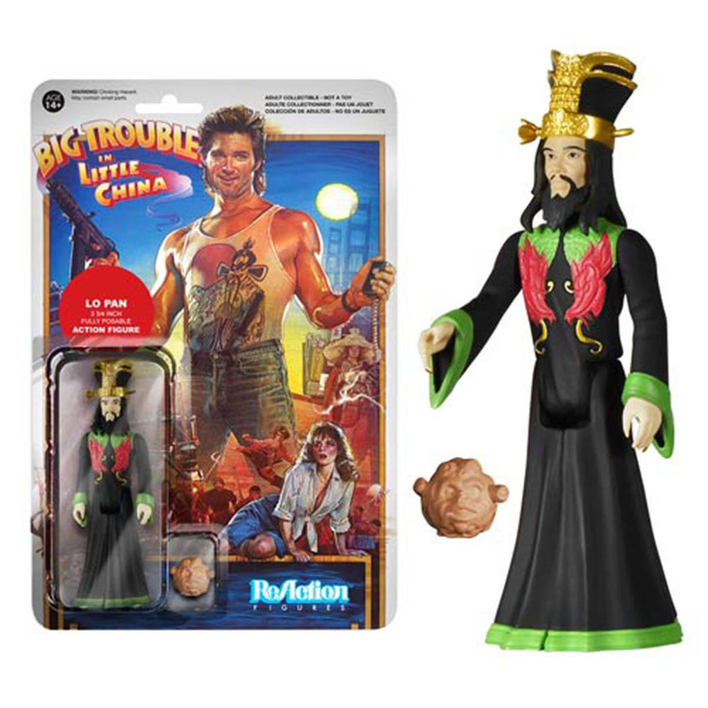 Big Trouble in Little China Lo Pan ReAction Figure