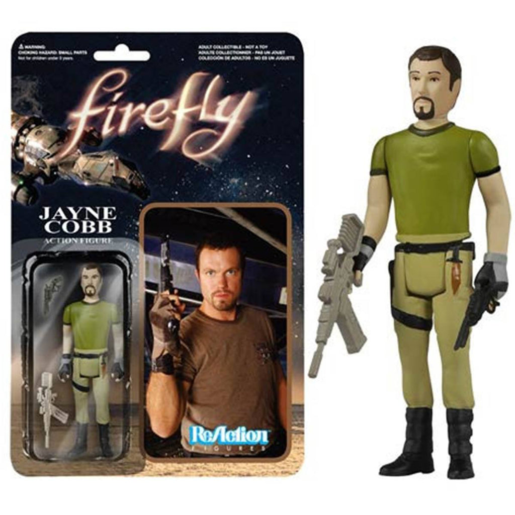 Firefly Jayne Cobb ReAction Figure