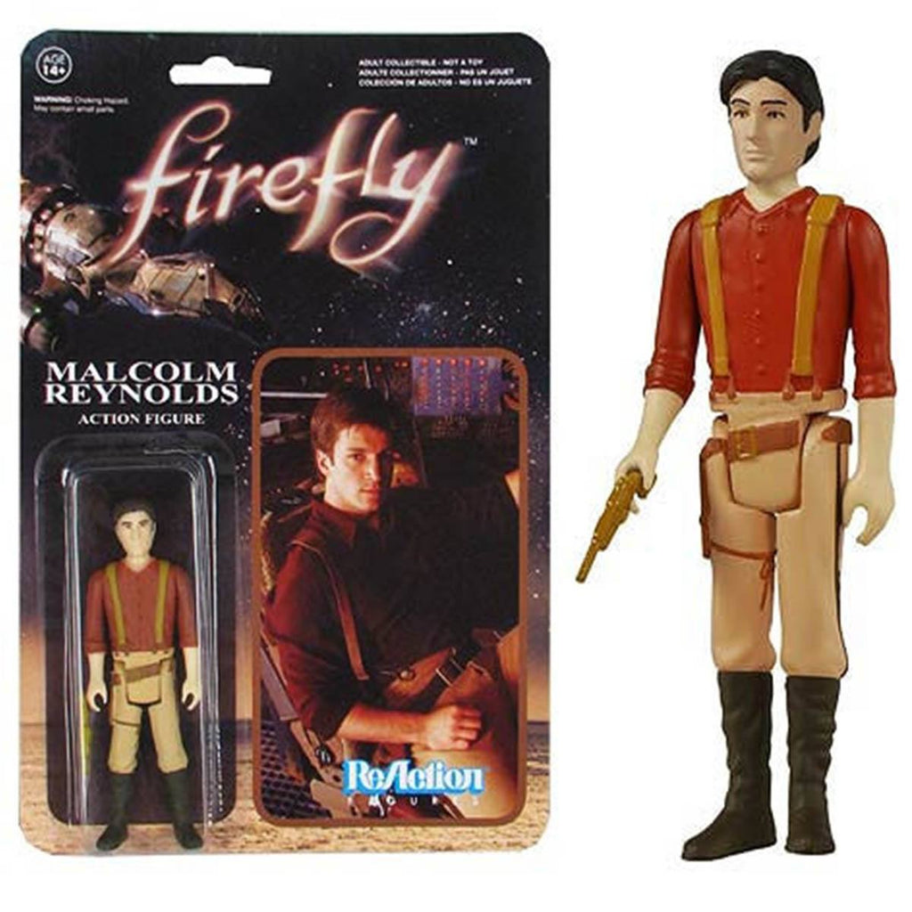 Firefly Malcolm Reynolds ReAction Figure - Radar Toys