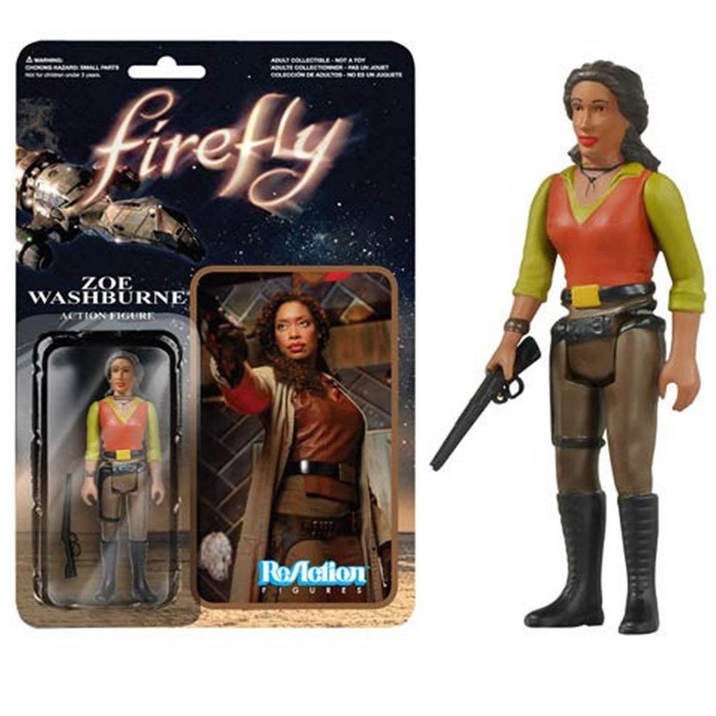 Firefly Zoe Washburne ReAction Figure - Radar Toys