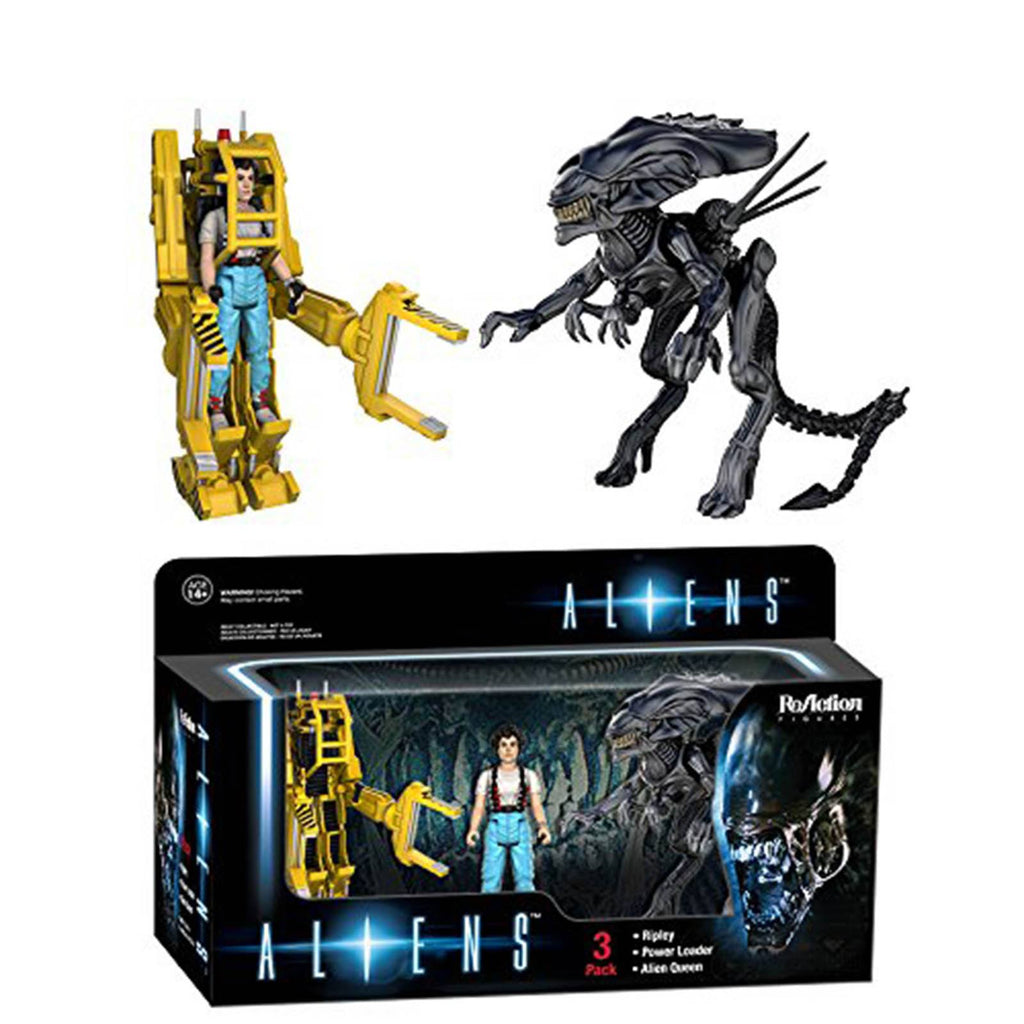 Funko Alien Reaction Ripley Power Loader Queen Figures 3 Pack