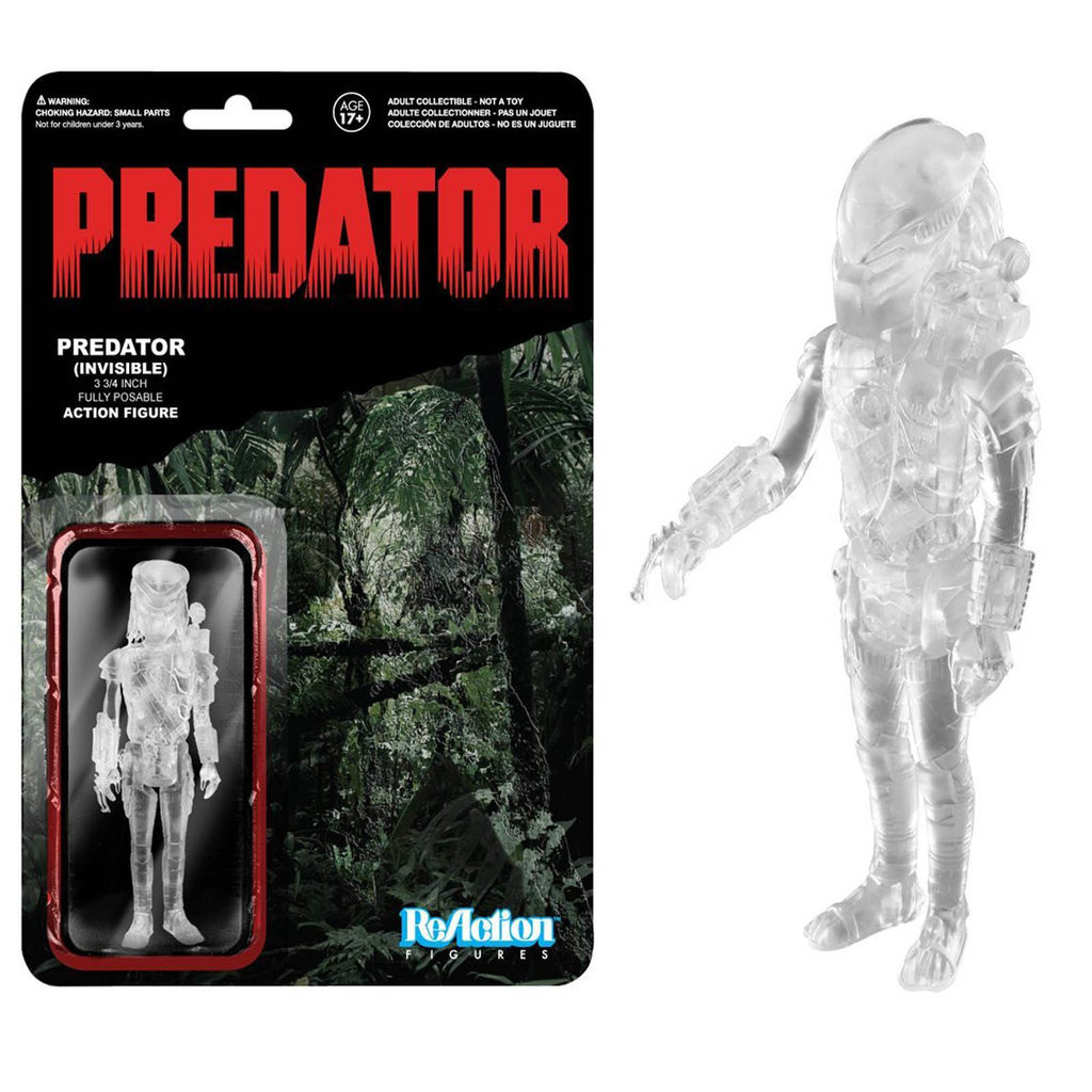 Funko Predator The Invisible Predator Reaction Figure