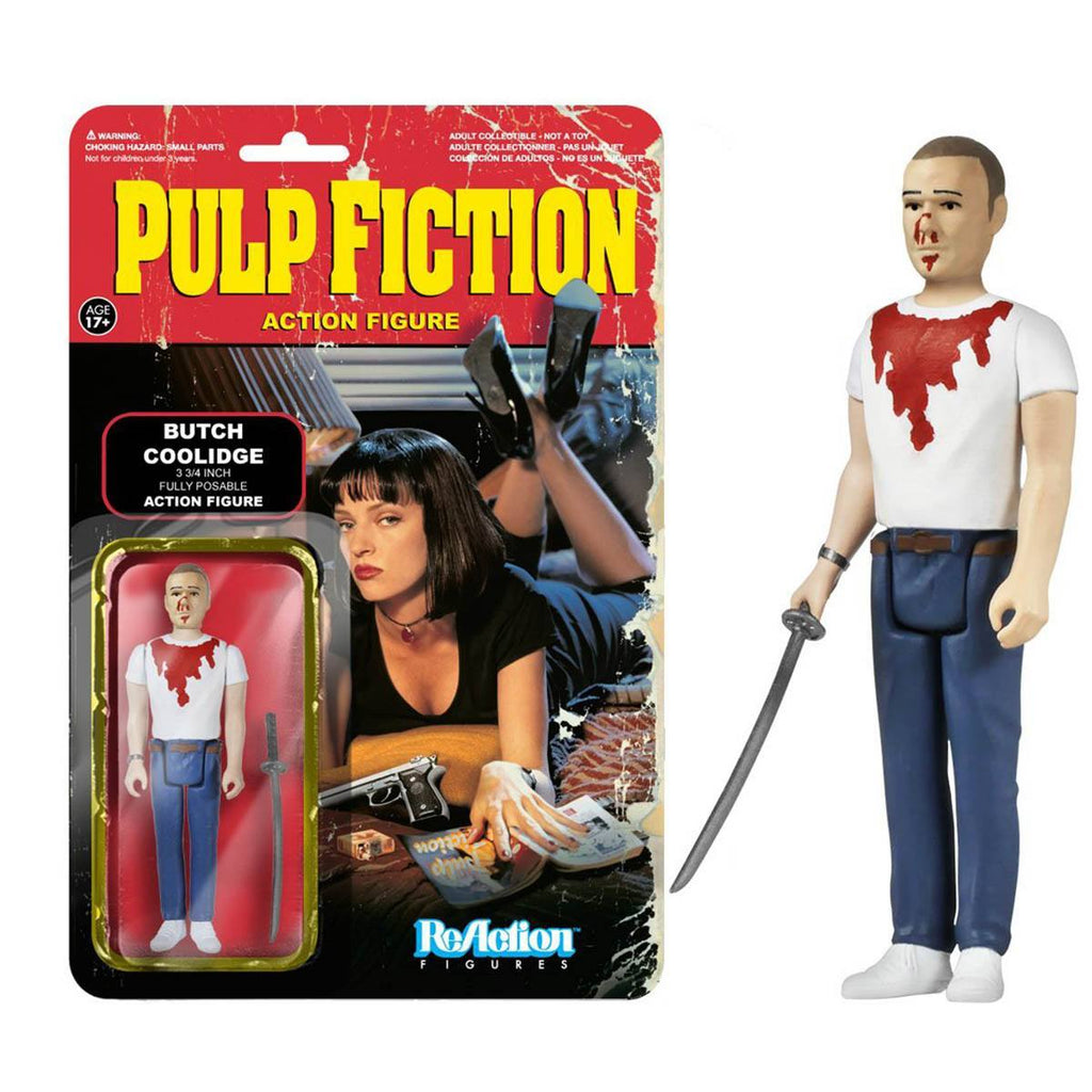 Pulp Fiction Butch Coolidge ReAction Figure