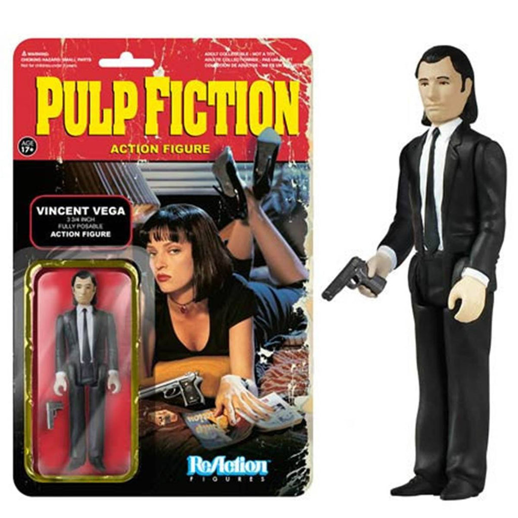 Pulp Fiction Vincent Vega ReAction Figure