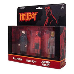 Funko Reaction - Super7 Hellboy Pack B 3 Figure Reaction Figure Set