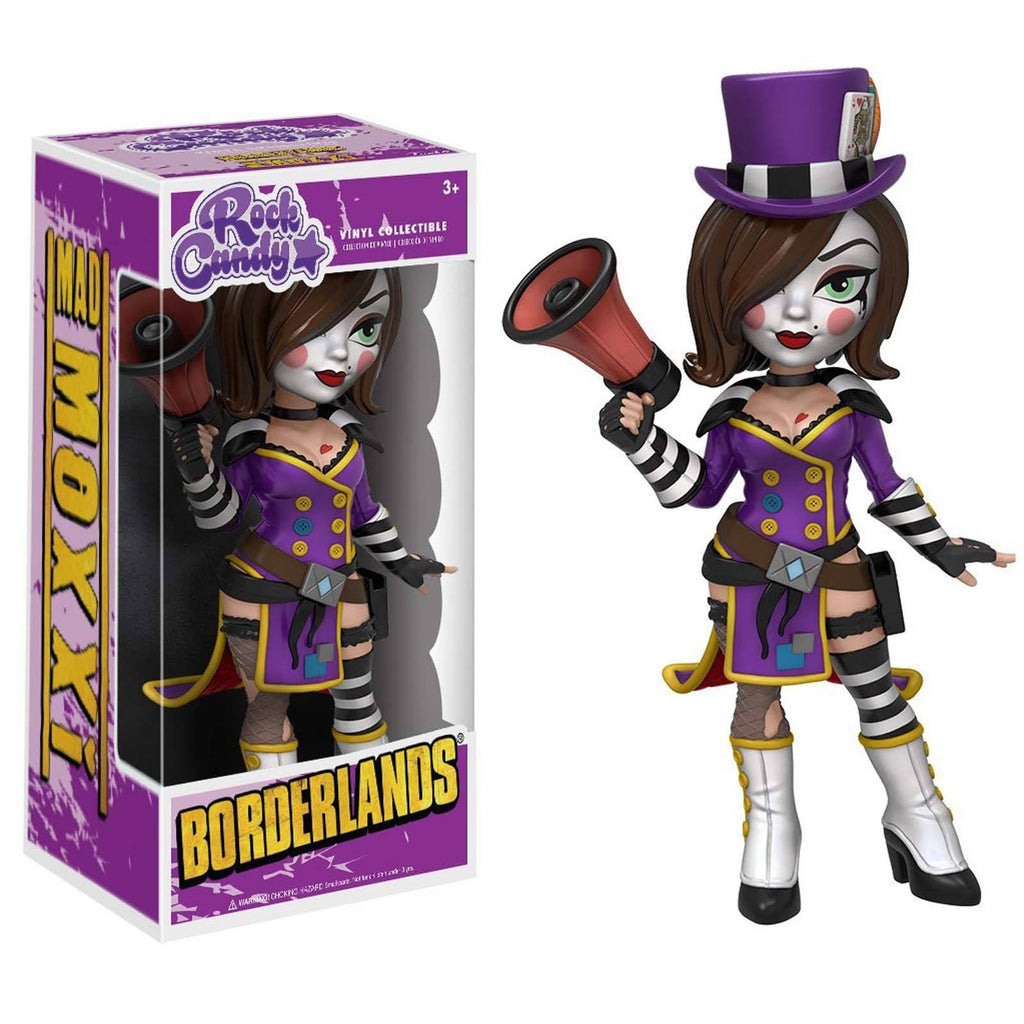 Funko Borderlands Rock Candy Mad Moxxi Vinyl Figure
