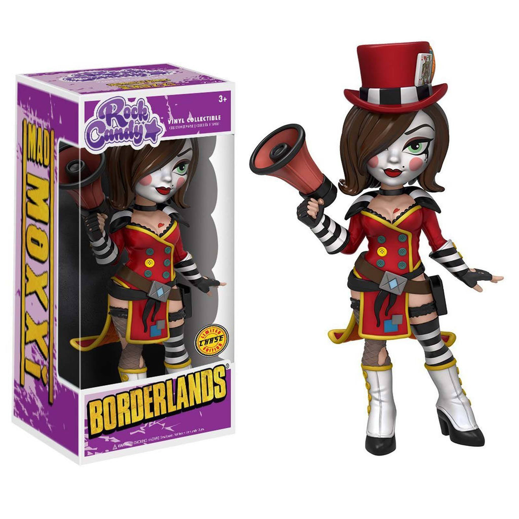 Funko Borderlands Rock Candy Mad Moxxi Vinyl Figure CHASE VERSION