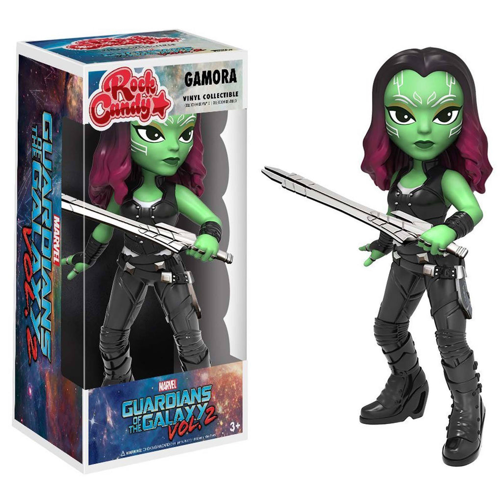 Funko Guardians Of the Galaxy 2 Rock Candy Gamora Vinyl Figure