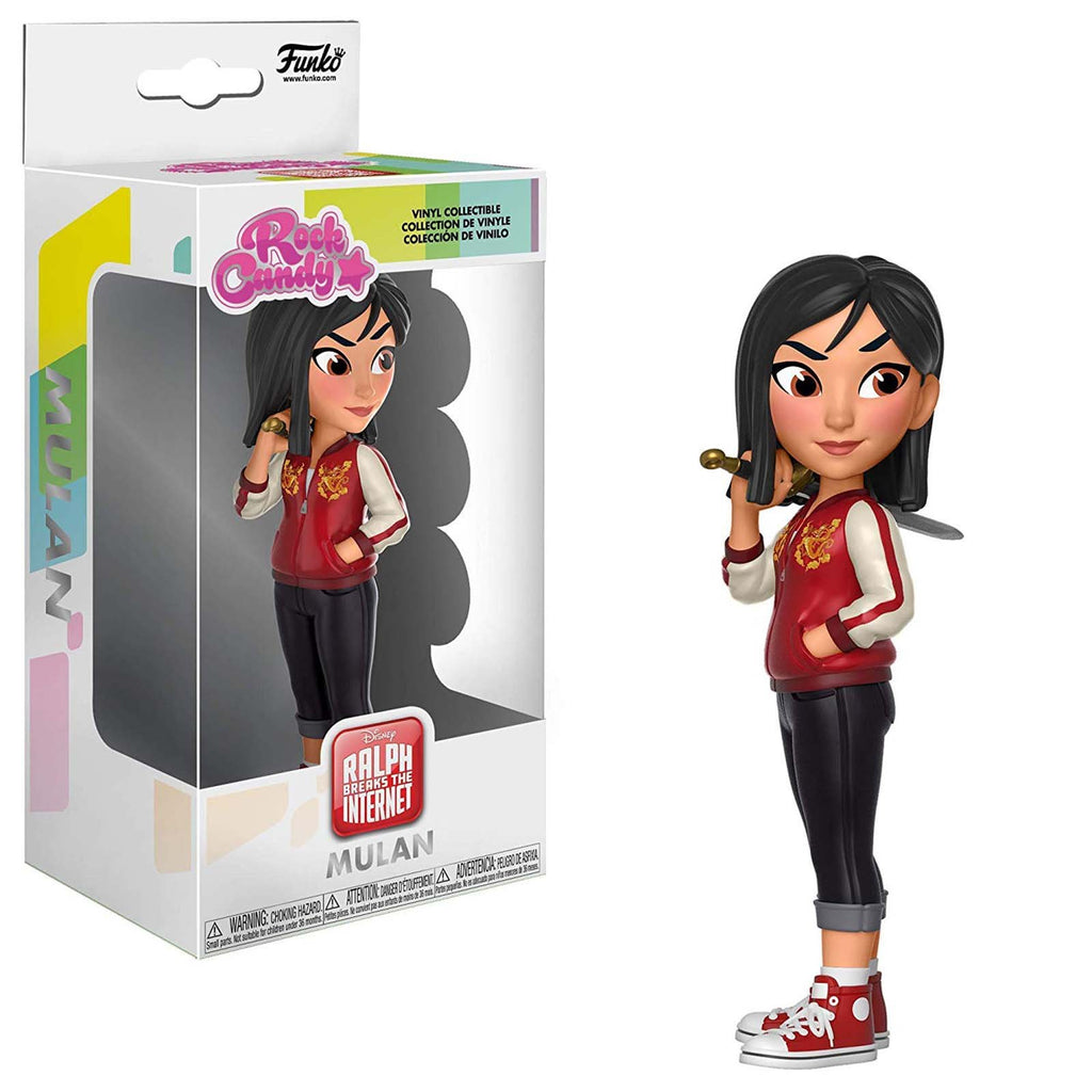 Funko Ralph Breaks The Internet Rock Candy Mulan Vinyl Figure