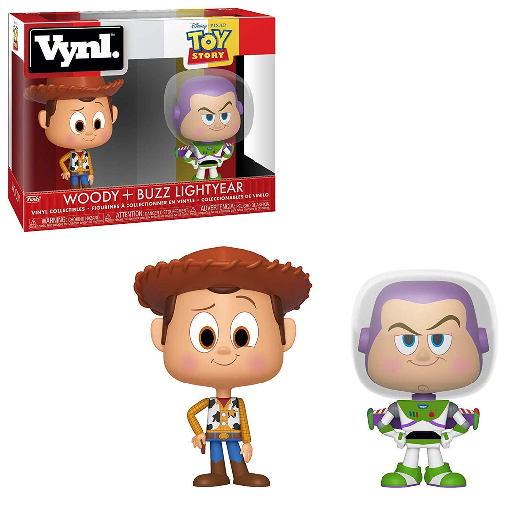 Funko Disney Toy Story Vynl Woody Buzz Lightyear Vinyl Figure