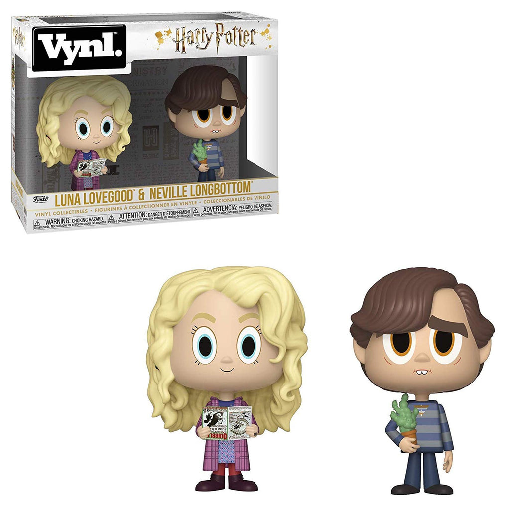 Funko Harry Potter Vynl Luna Lovegood Neville Longbottom Figure Set