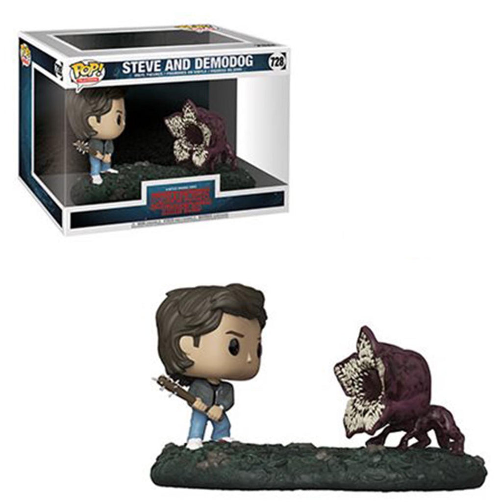 Funko Stranger Things POP Movie Moments Steve And Demodog Figure Set