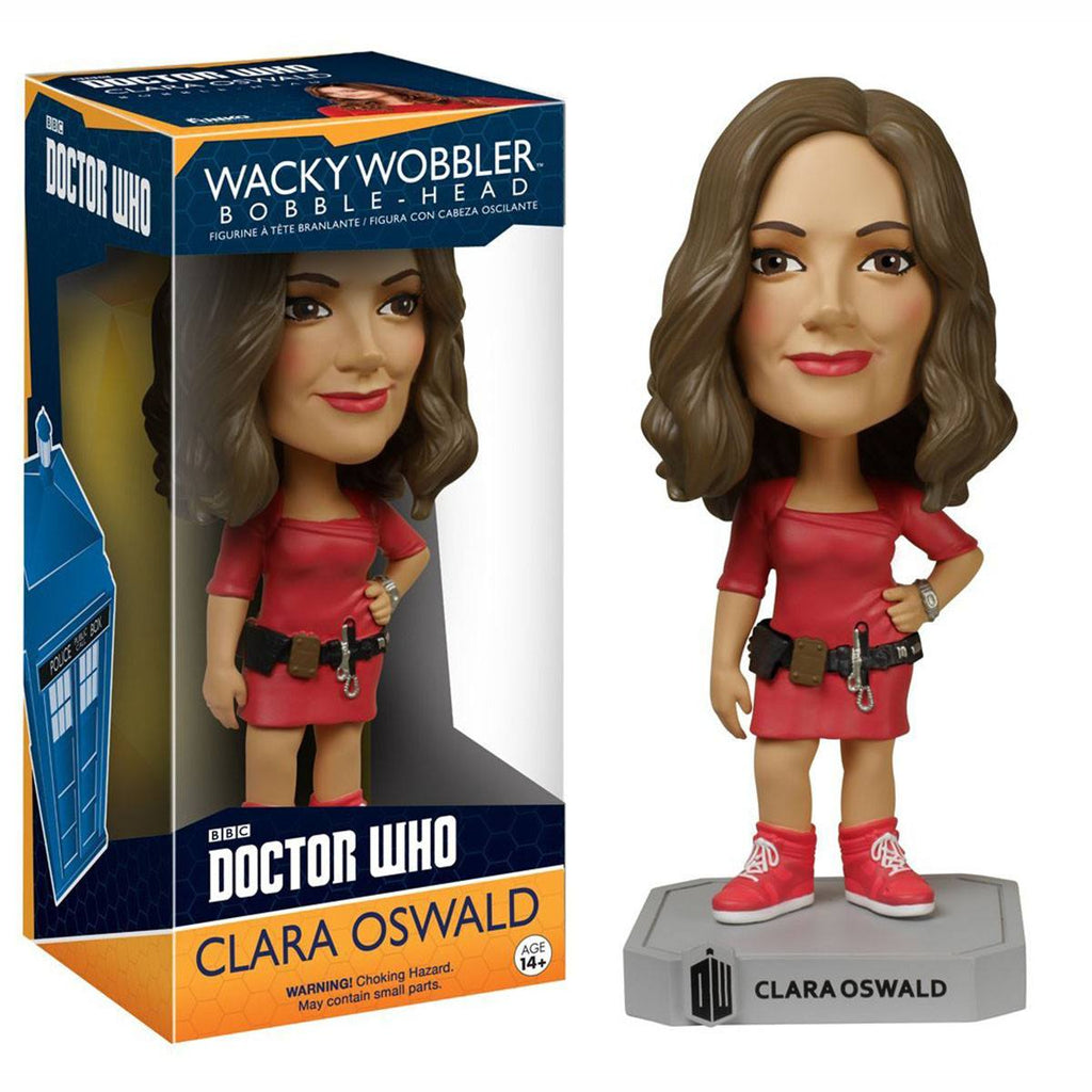 Doctor Who Wacky Wobbler Clara Oswald Bobble Head Figure