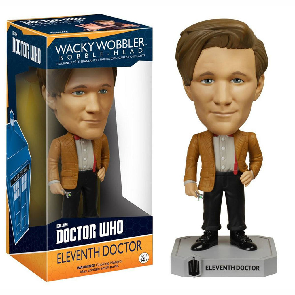 Doctor Who Wacky Wobbler Eleventh Doctor Bobble Head Figure