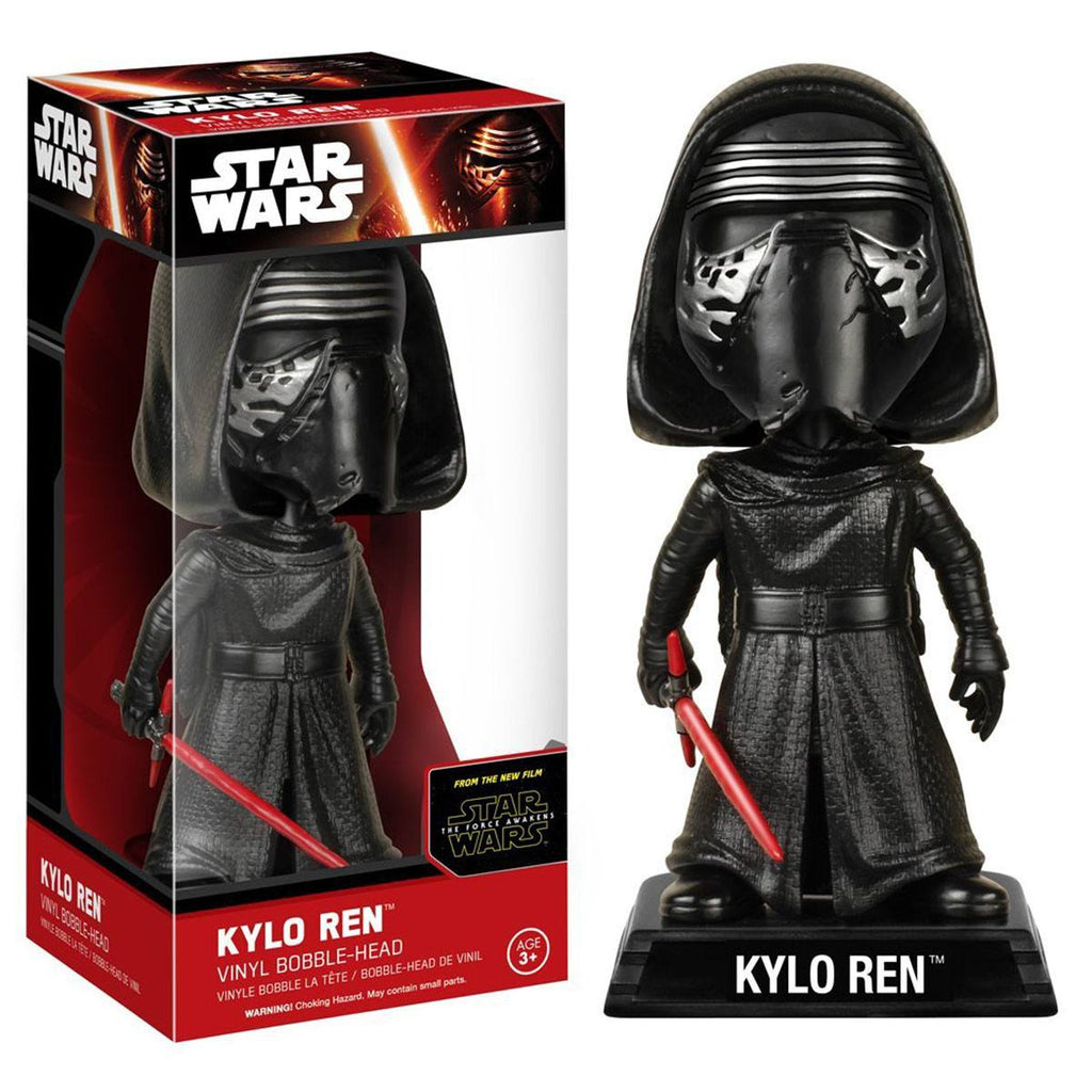 Star Wars Force Awakens Wacky Wobbler Kylo Ren Bobble Head Figure