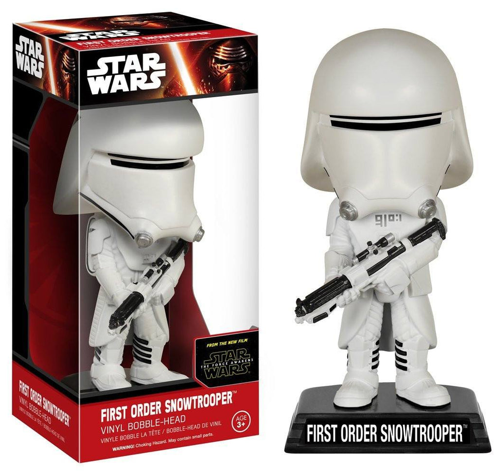 Star Wars Force Awakens Wacky Wobbler Snowtrooper Bobble Head Figure