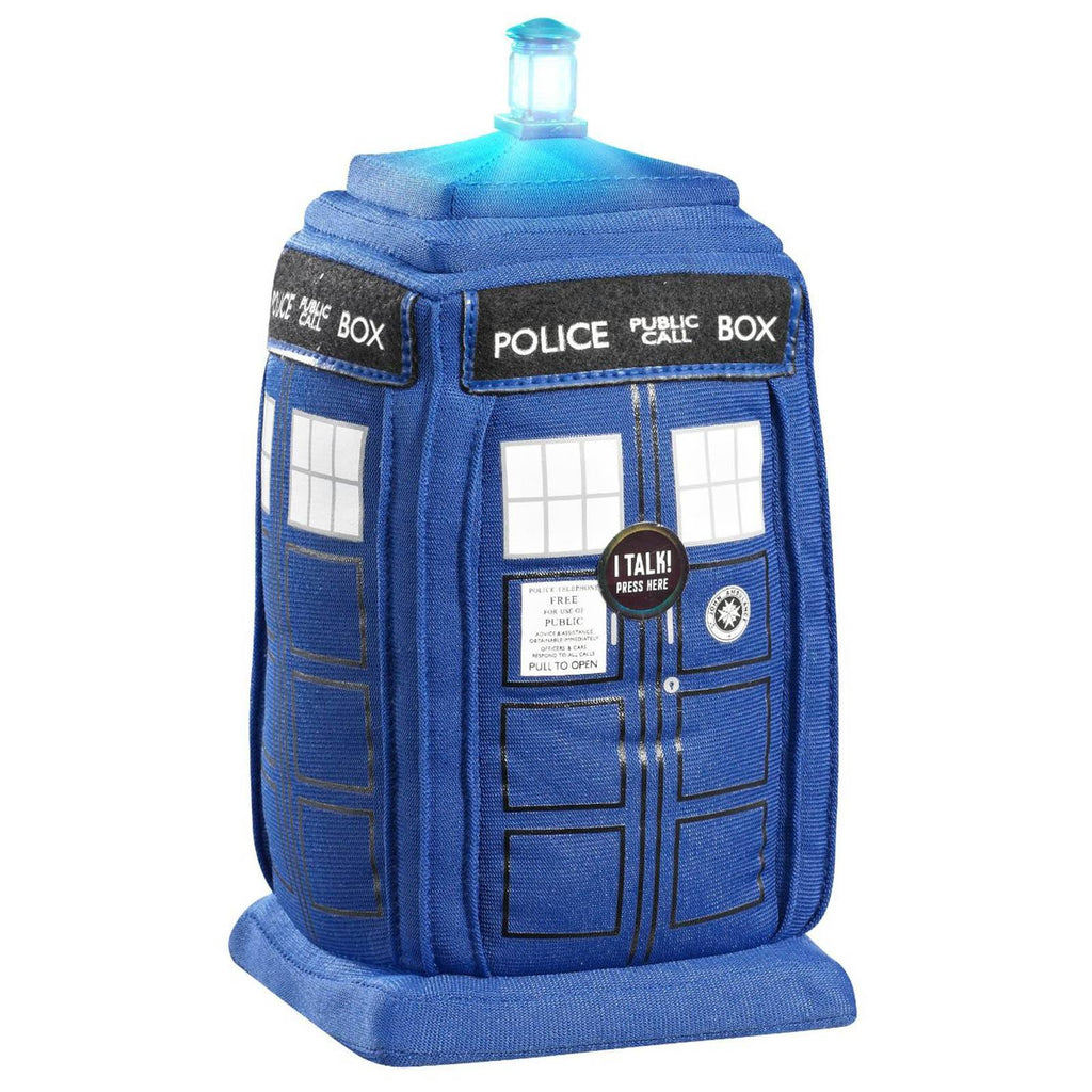 Doctor Who Tardis Talking 9 Inch Plush Figure