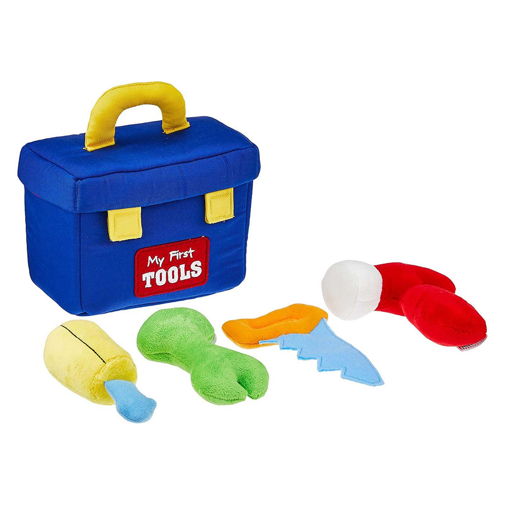 Gund Popular Culture Plush - Gund Baby My First Tool Box Plush Playset