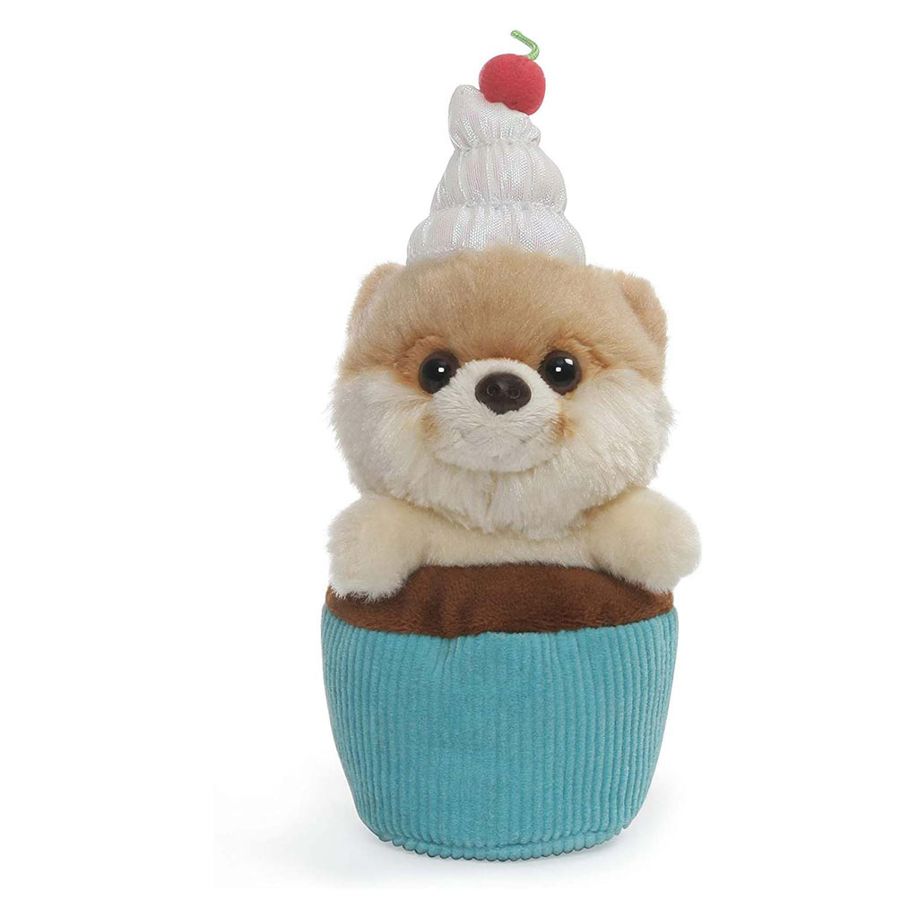 Gund Popular Culture Plush - Gund Boo World's Cutest Dog Cupcake Boo 5 Inch Plush Figure