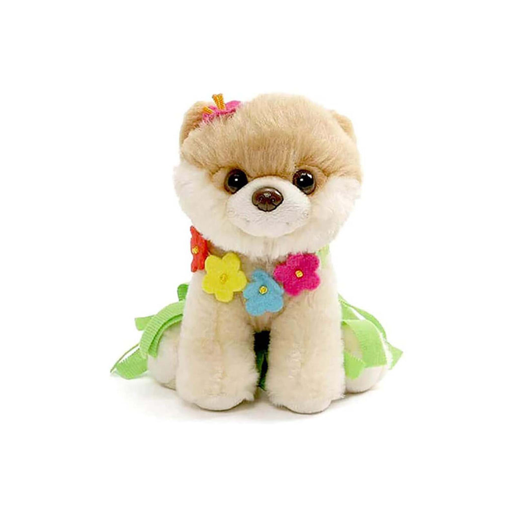 Gund Popular Culture Plush - Gund Boo World's Cutest Dog Hula Outfit 5 Inch Plush Figure