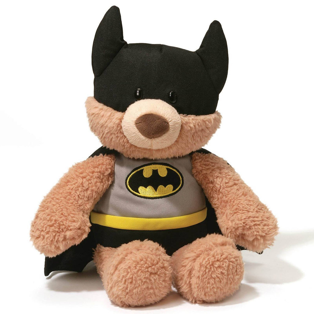 Gund DC Comics Batman Black Outfit Malone 12 Inch Plush Figure