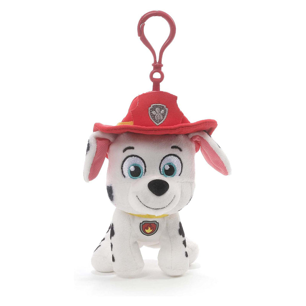 Gund PAW Patrol Marshall 4 Inch Plush Backpack Clip