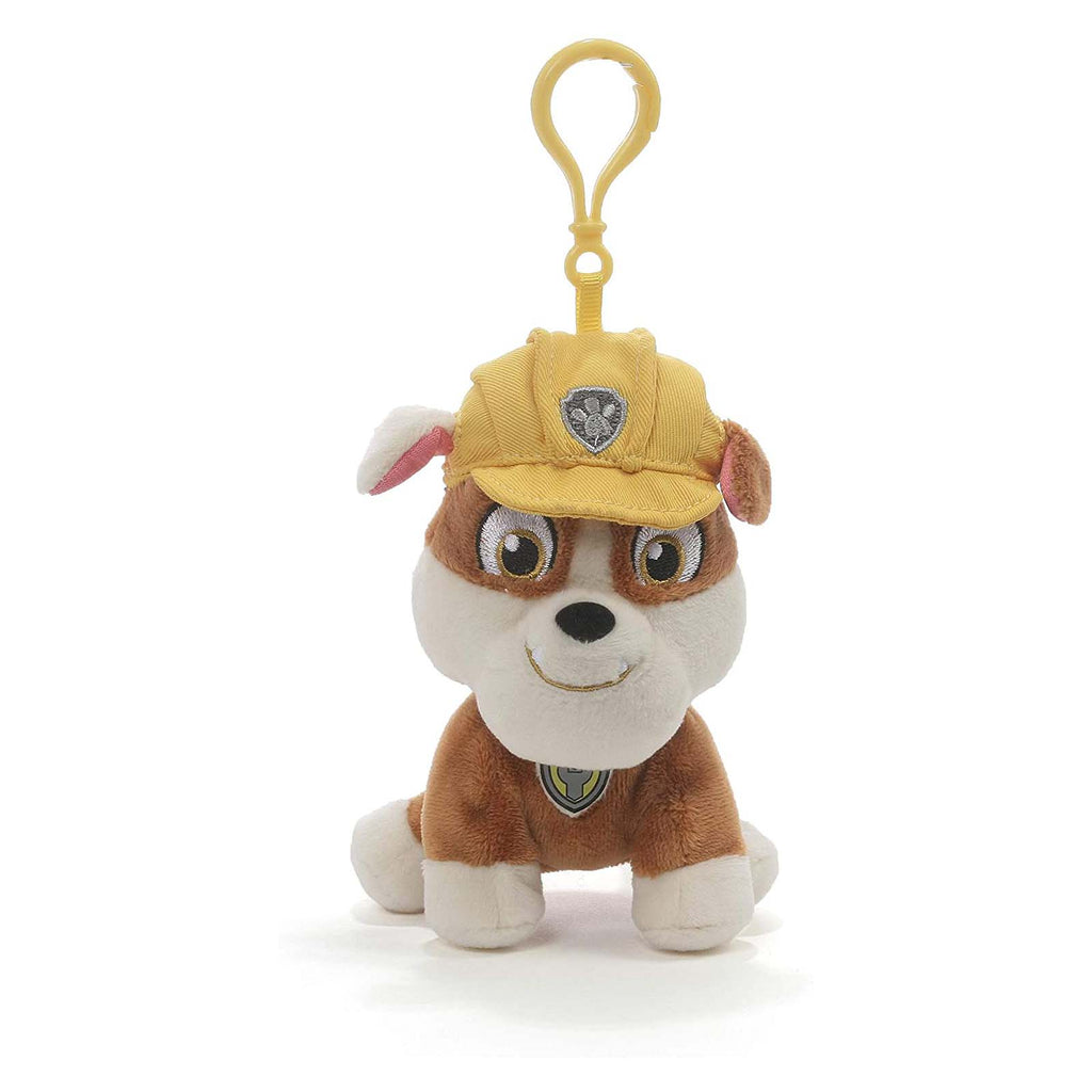 Gund PAW Patrol Ruble 4 Inch Backpack Clip Plush Figure