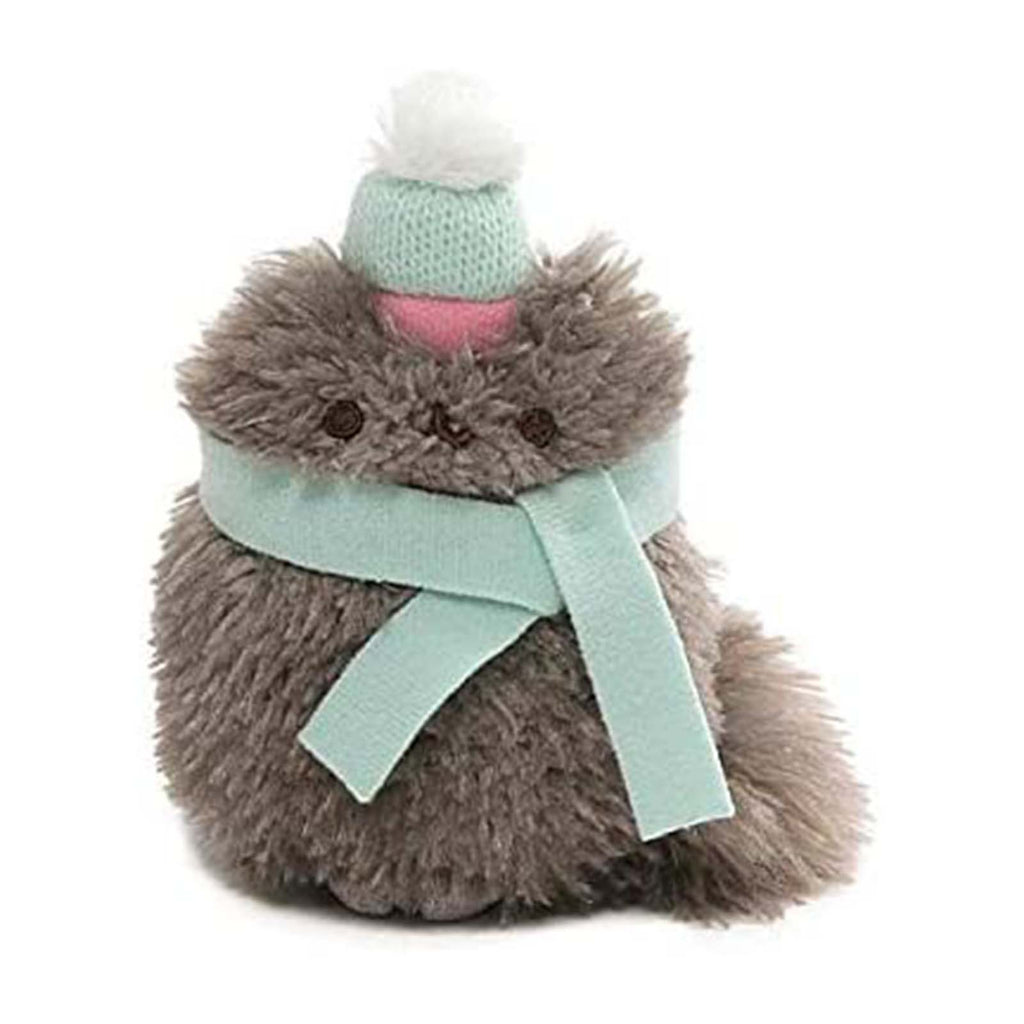 Gund Popular Culture Plush - Gund Pusheen Pip With Scarf And Hat 4 Inch Plush Figure