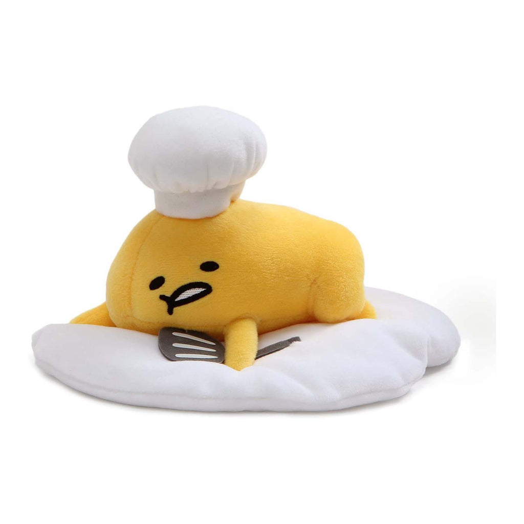 Gund Popular Culture Plush - Gund Sanrio Gudetama Chef Laying Down 7 Inch Plush Figure