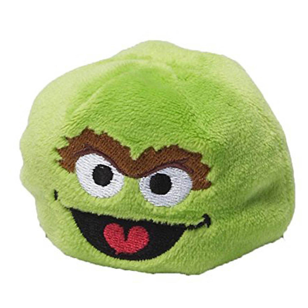 Gund Sesame Street Oscar The Grouch 3 Inch Beanbag Pal Plush