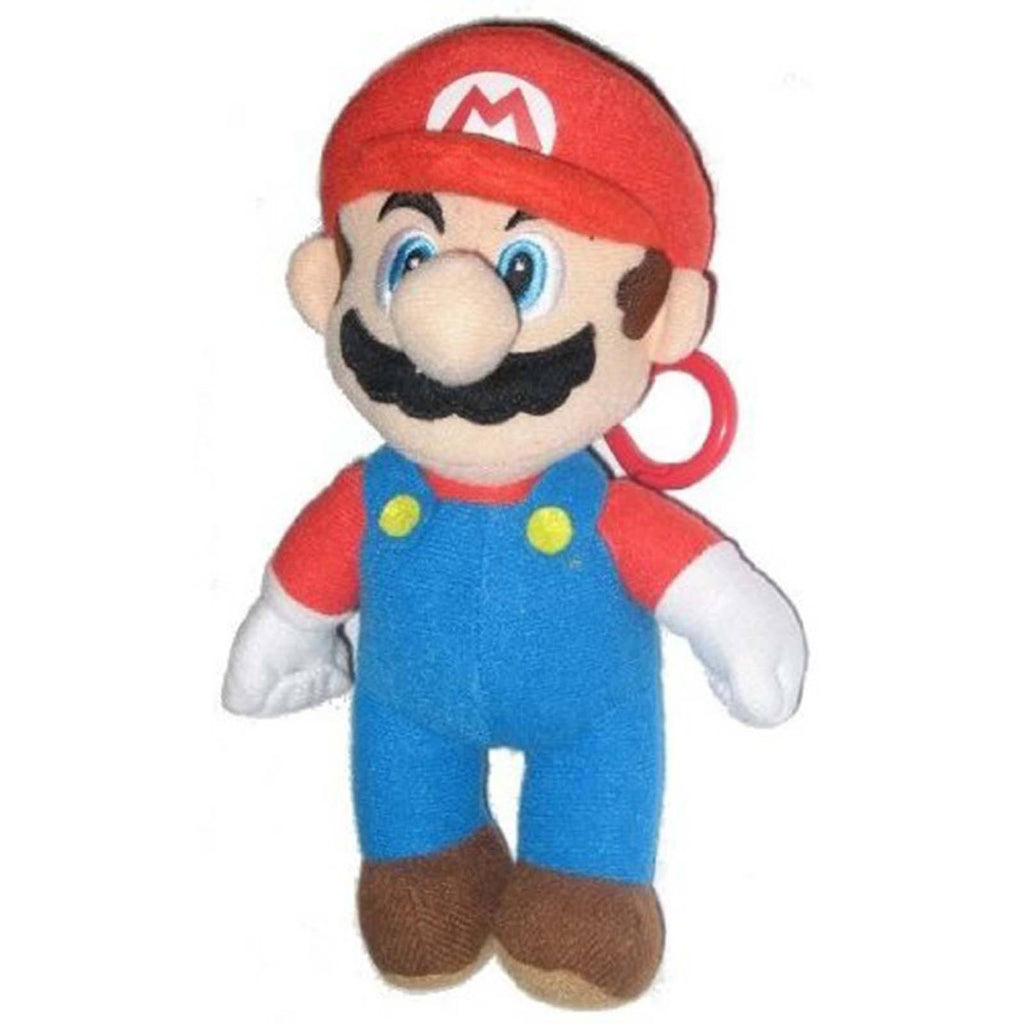 Super Mario 6 Inch Clip On Plush Figure