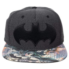 Hats - DC Batman Black Emblem Snapback Hat