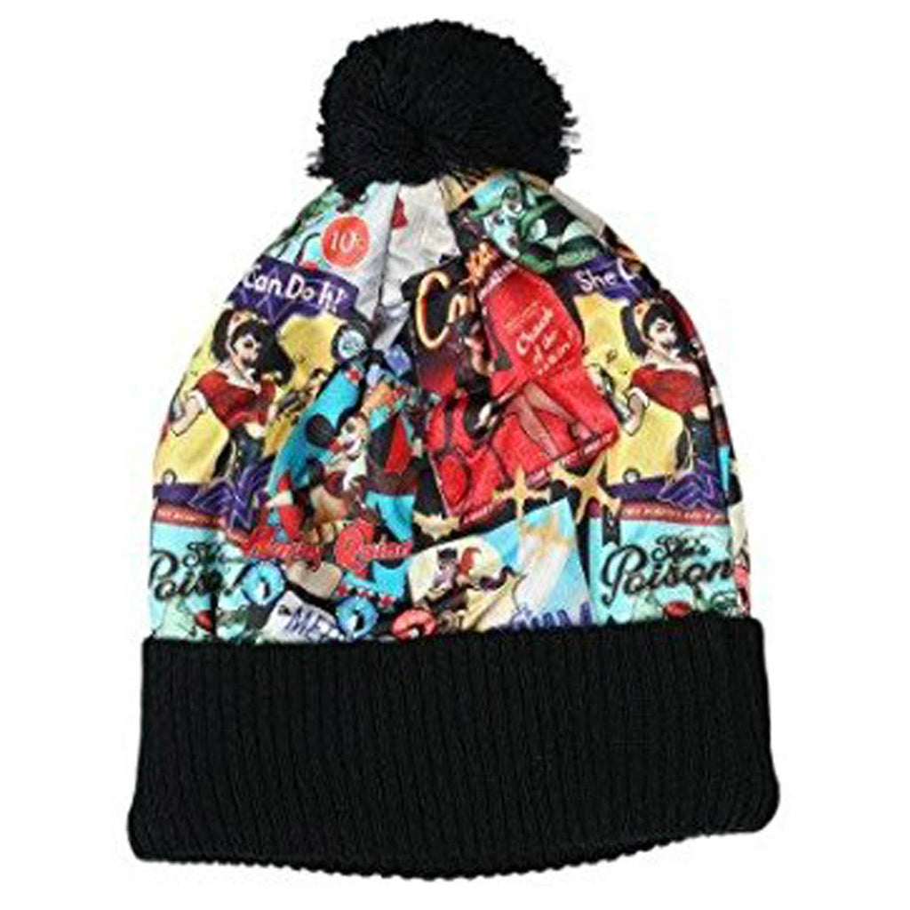DC Comics Bombshell Sublimated Pom Beanie