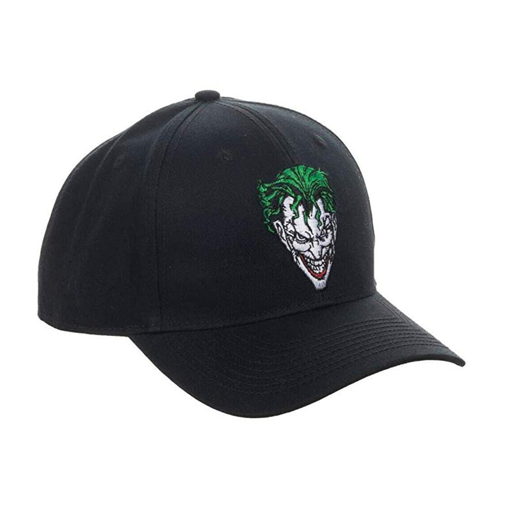 DC Joker Black Snapback Hat